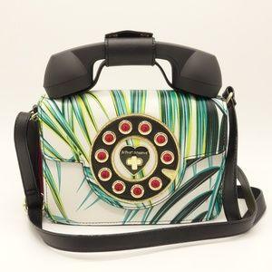 NWT BETSEY JOHNSON Mini Phone Crossbody Bag 🌵